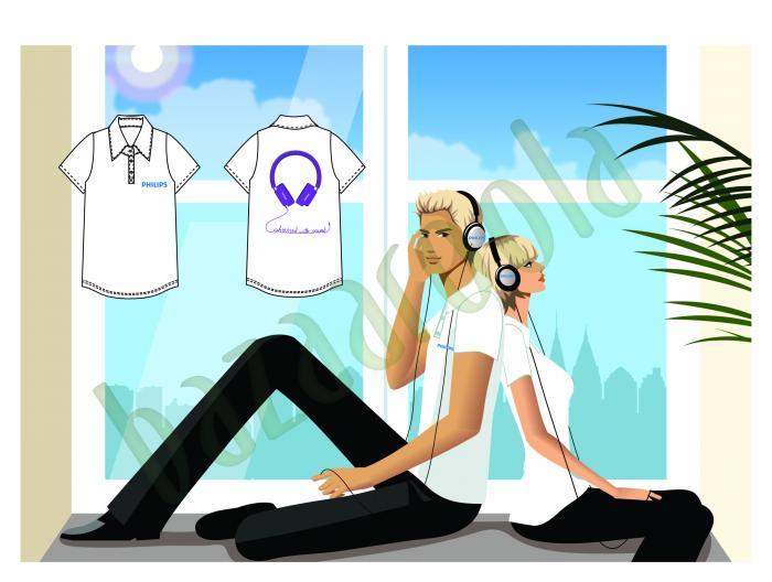 Tanıtım elemanı kıyafet tasarımı