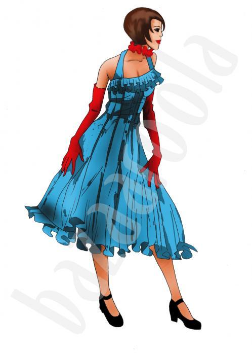 Dans Kıyafeti Tasarımı