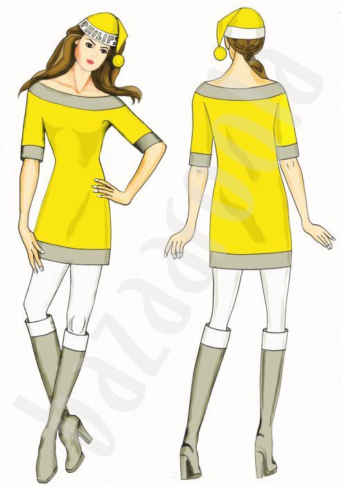 Yılbaşı kostüm tasarımı
